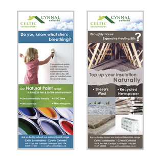 local graphic design including posters flyers booklets